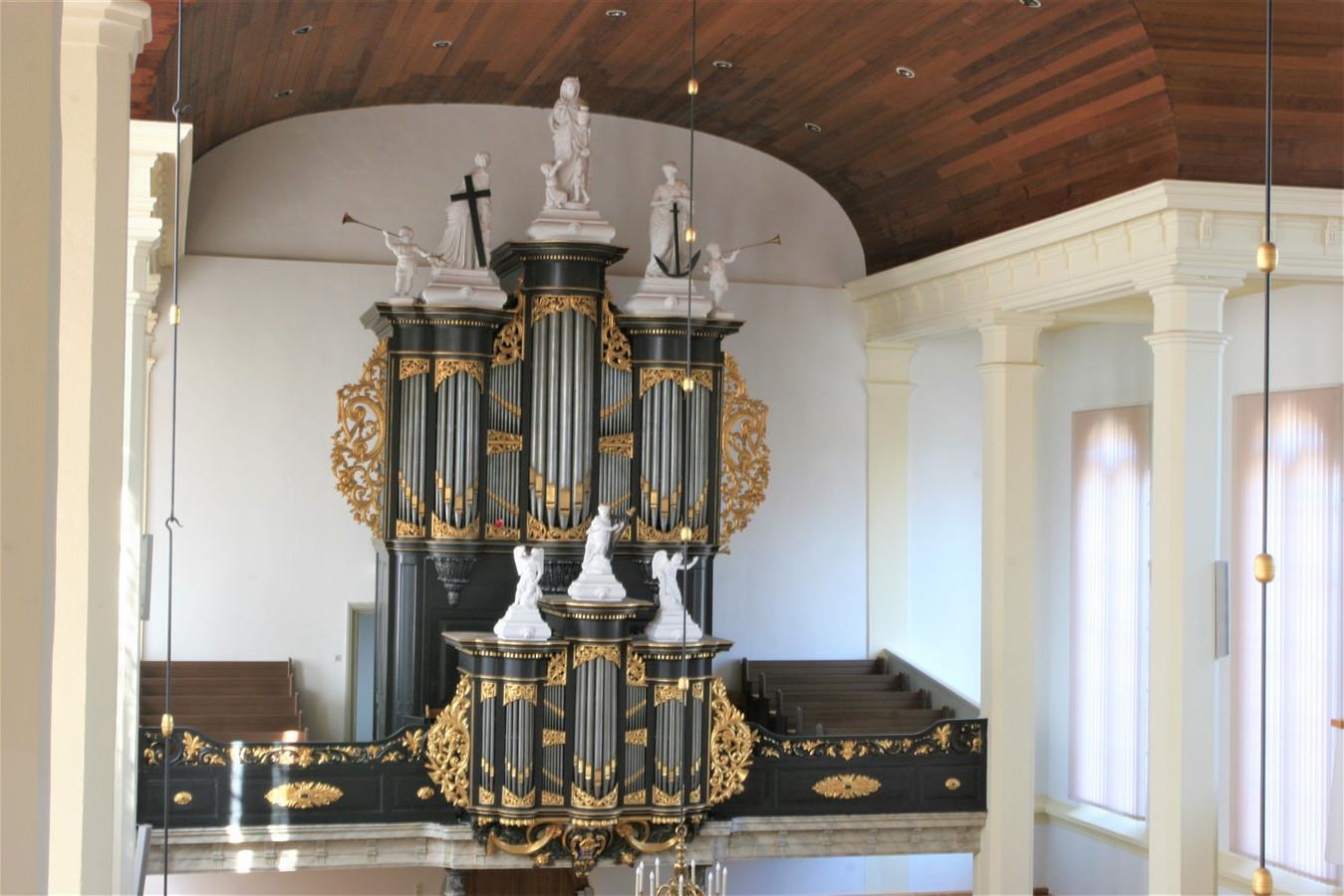 Het Zwier van Dijk-orgel in de St. Nicolaaskerk