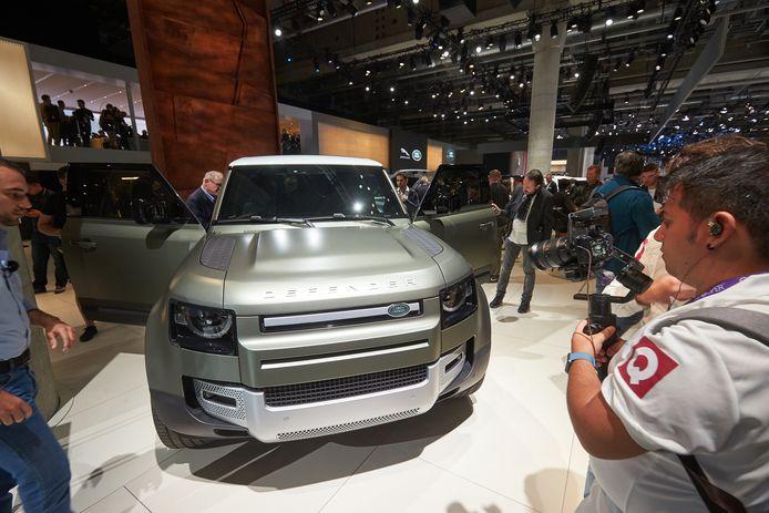 Nieuwe generatie van de Land Rover Defender.