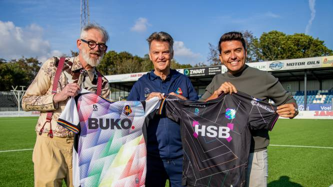 Regenboog-gekleurd Telstar en FC Volendam zetten zich in voor meer LHBTI-acceptatie