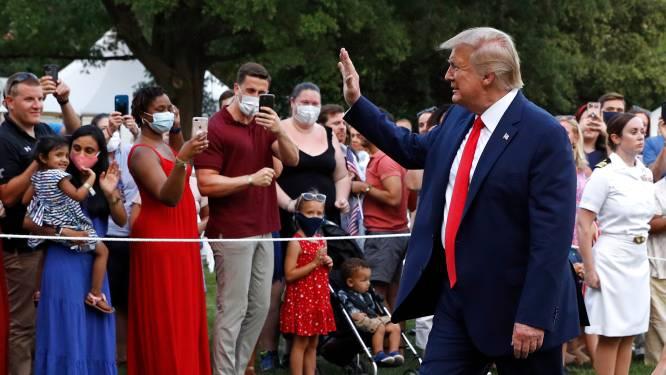 Trump: 'Meeste coronabesmettingen onschuldig, voor einde jaar vaccin'