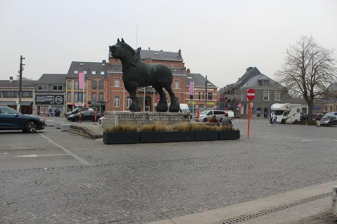 De Markt van Lennik.
