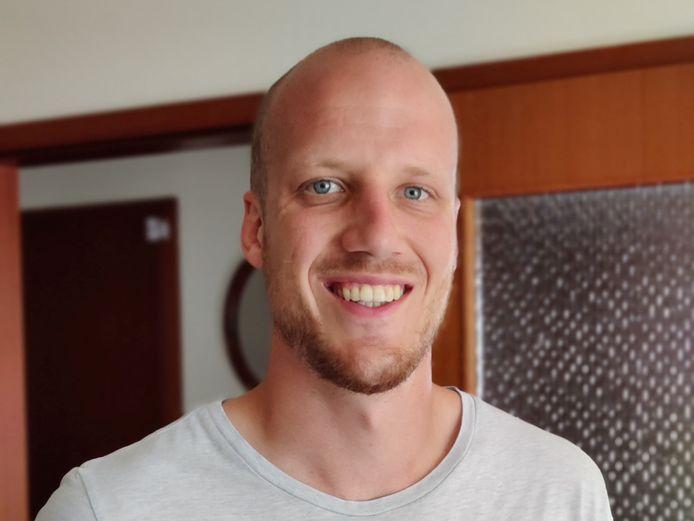 Mathias Pierquin, één van de coördinatoren van het COVID-team van de Zennevallei.