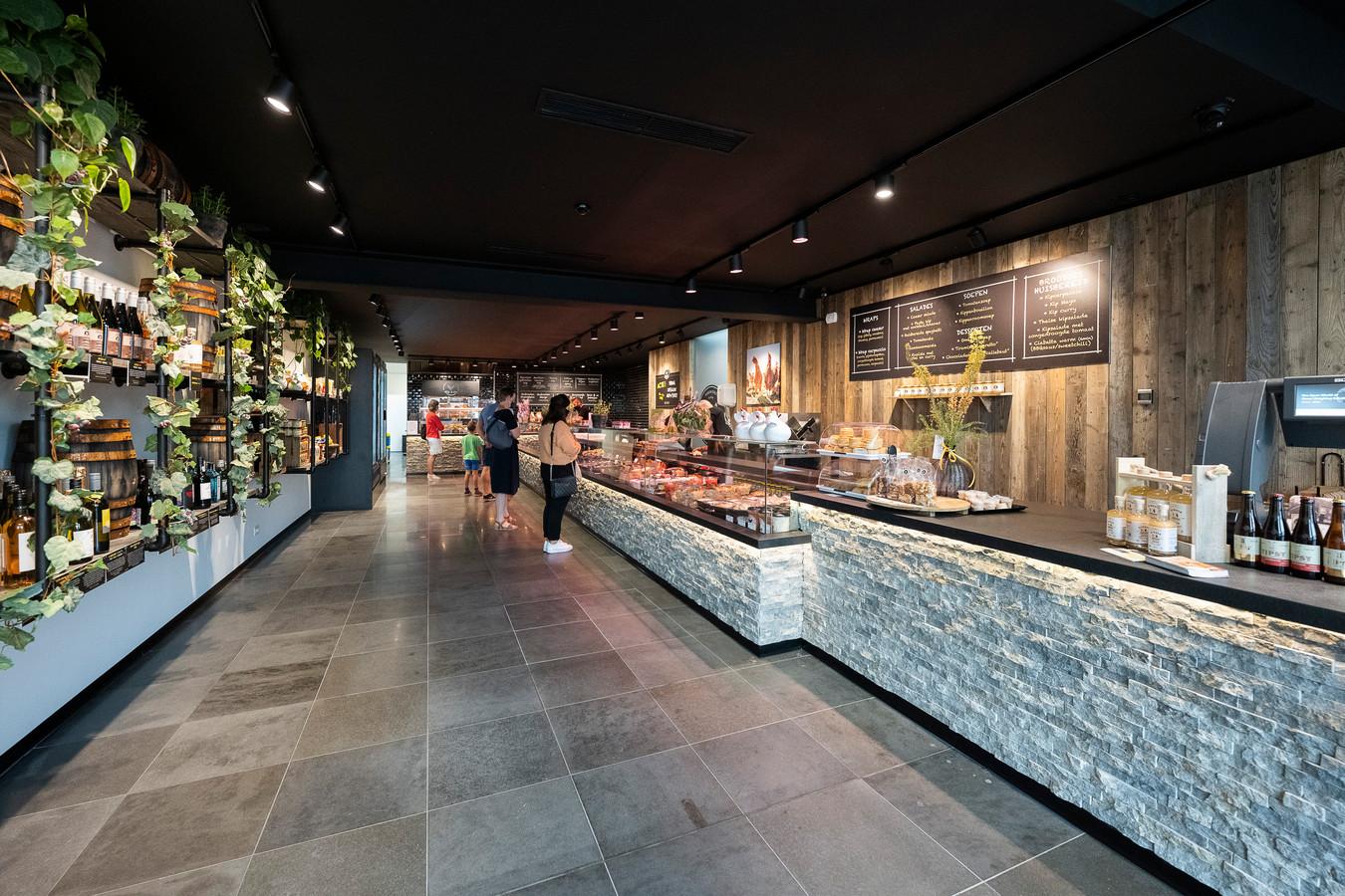 De gloednieuwe winkel van Kip & Co in Hoevenen