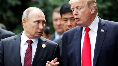 """Poetin: """"Beschuldigingen van Russische inmenging in VS-verkiezingen zijn onzin"""""""