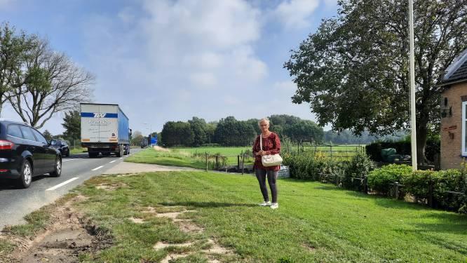 Lydie (71) vreest plannen voor 'levensgevaarlijke' provinciale weg: 'Mijn man kwam hier al om het leven'