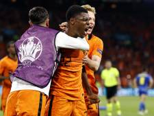 Matchwinner Dumfries geniet: 'Mijn mooiste wedstrijd tot nu toe'