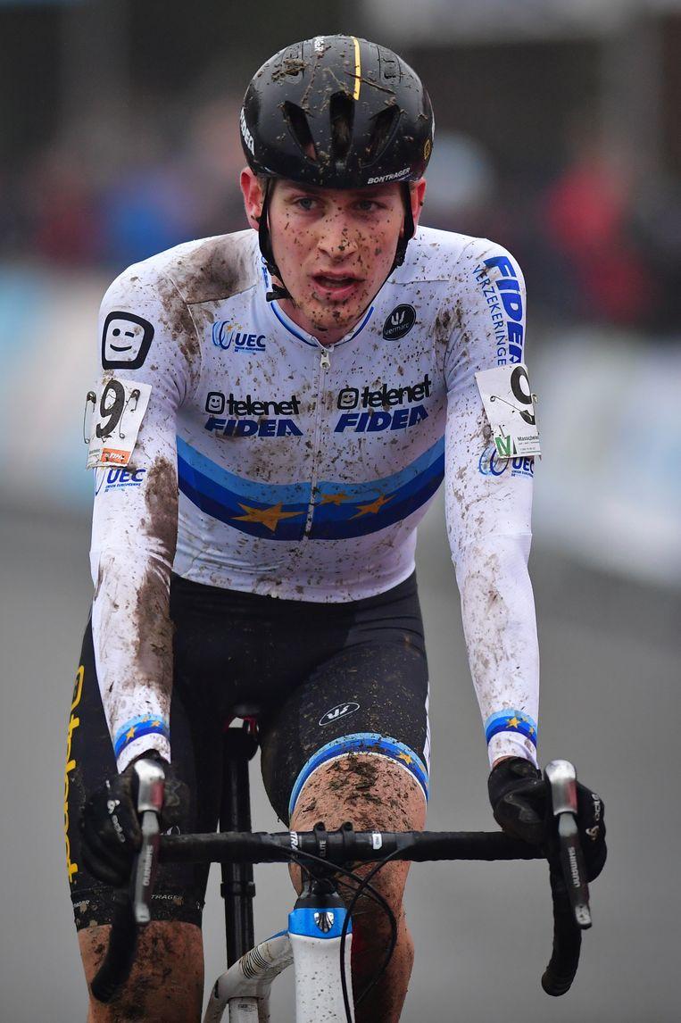 Voor Europees kampioen Toon Aerts was een tweede plek het hoogst haalbare Beeld BELGA