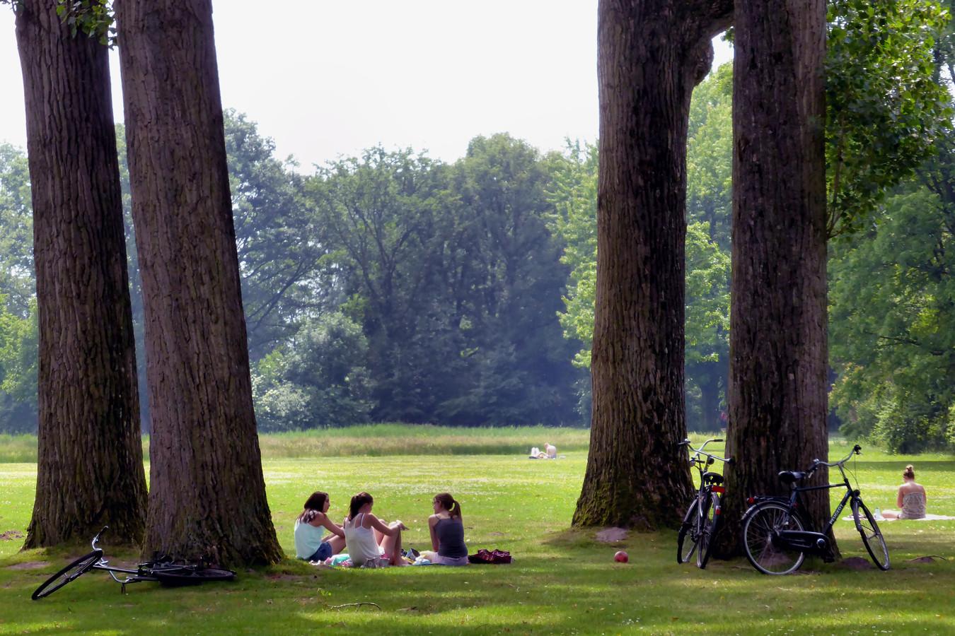 Leijpark in Tilburg.