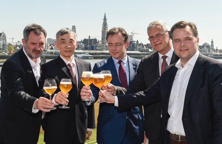 De Lancering van het nieuwe bier vond vandaag plaats.