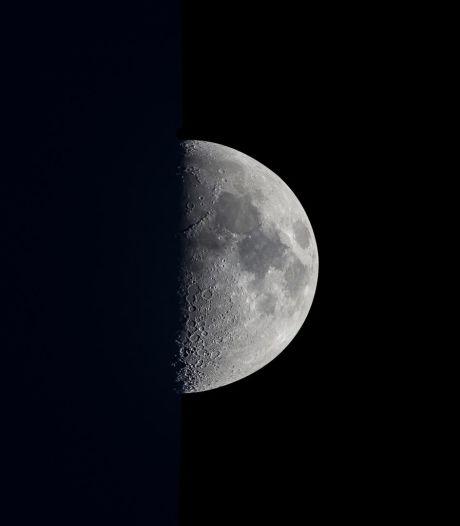 La seule œuvre d'art (belge) sur la Lune s'expose à Anvers