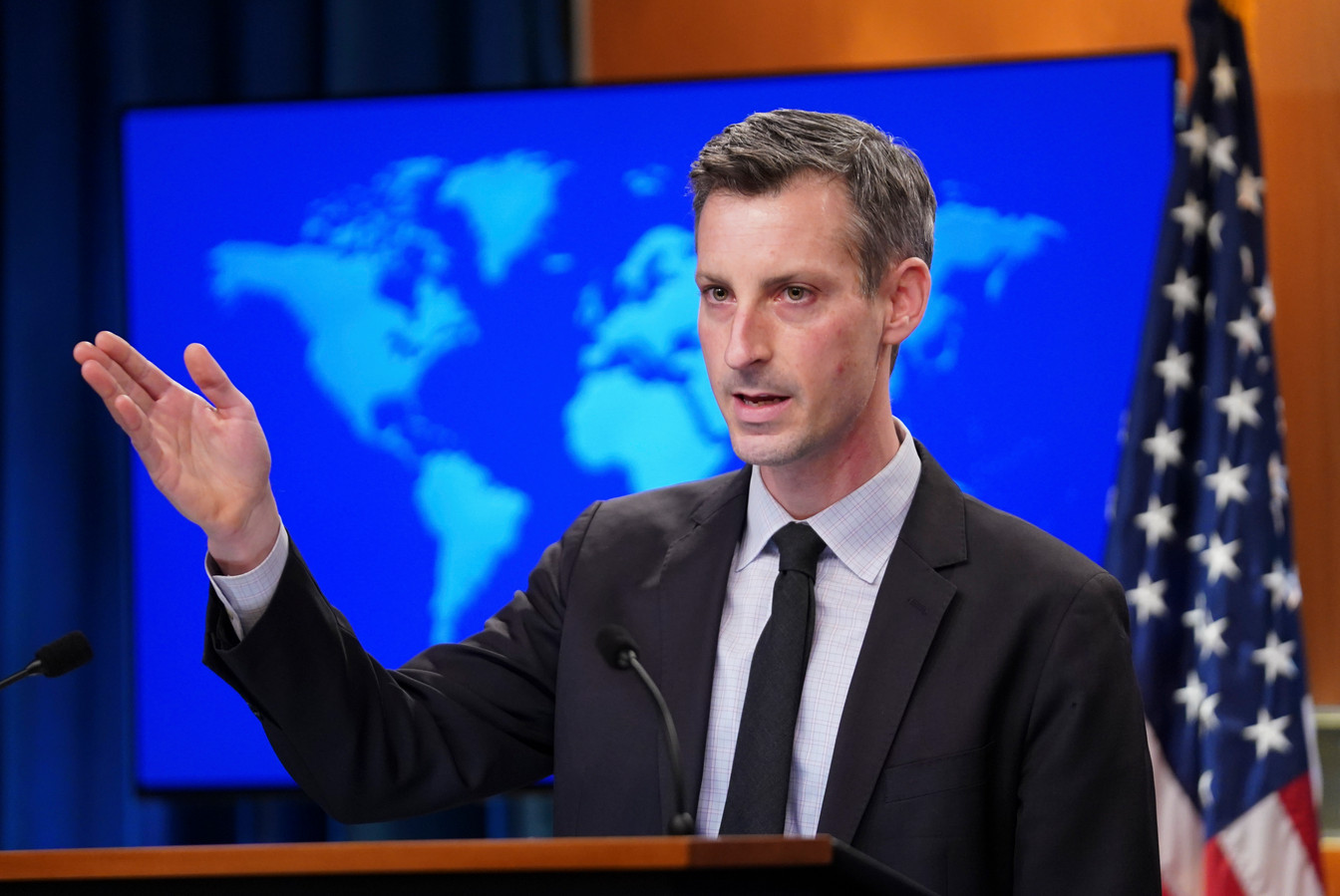 Le porte-parole de la diplomatie américaine Ned Price.