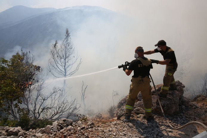De voorbije weken werd Griekenland geteisterd door verschillende bosbranden.