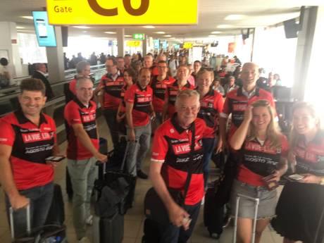 Stevige Utrechtse delegatie naar start Vuelta om alvast te proeven voor volgend jaar