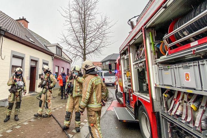 Ronse brand bij bejaarde vrouw