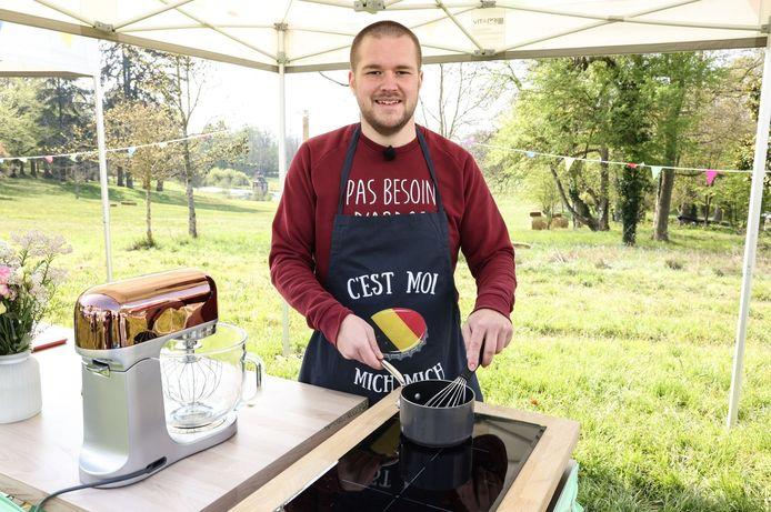 """Alexandre représentera les couleurs de la Belgique dans la nouvelle saison du """"Meilleur Pâtissier""""."""