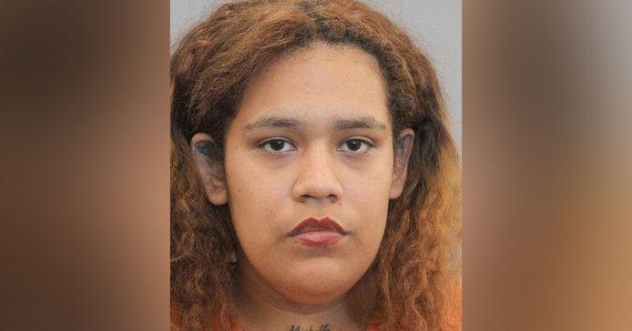 Angelia Vargas is aangehouden voor het gebruik van een vuurwapen in het openbaar.