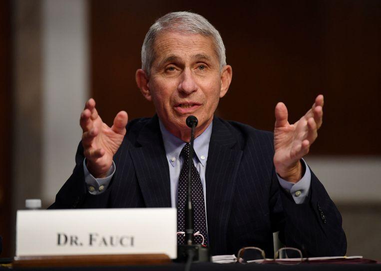 Anthony Fauci, directeur van het Amerikaanse Instituut voor Infectieziekten. Beeld REUTERS