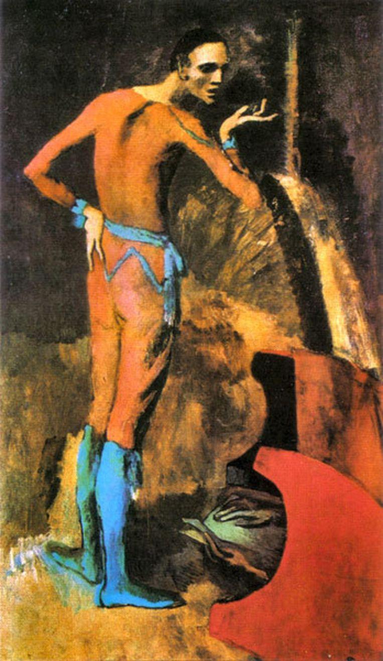 The Actor van Pablo Picasso uit 1904. Foto Metropolitan Museum of Art, New York Beeld