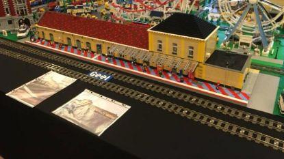 Station van Geel is pronkstuk op Lego-tentoonstelling