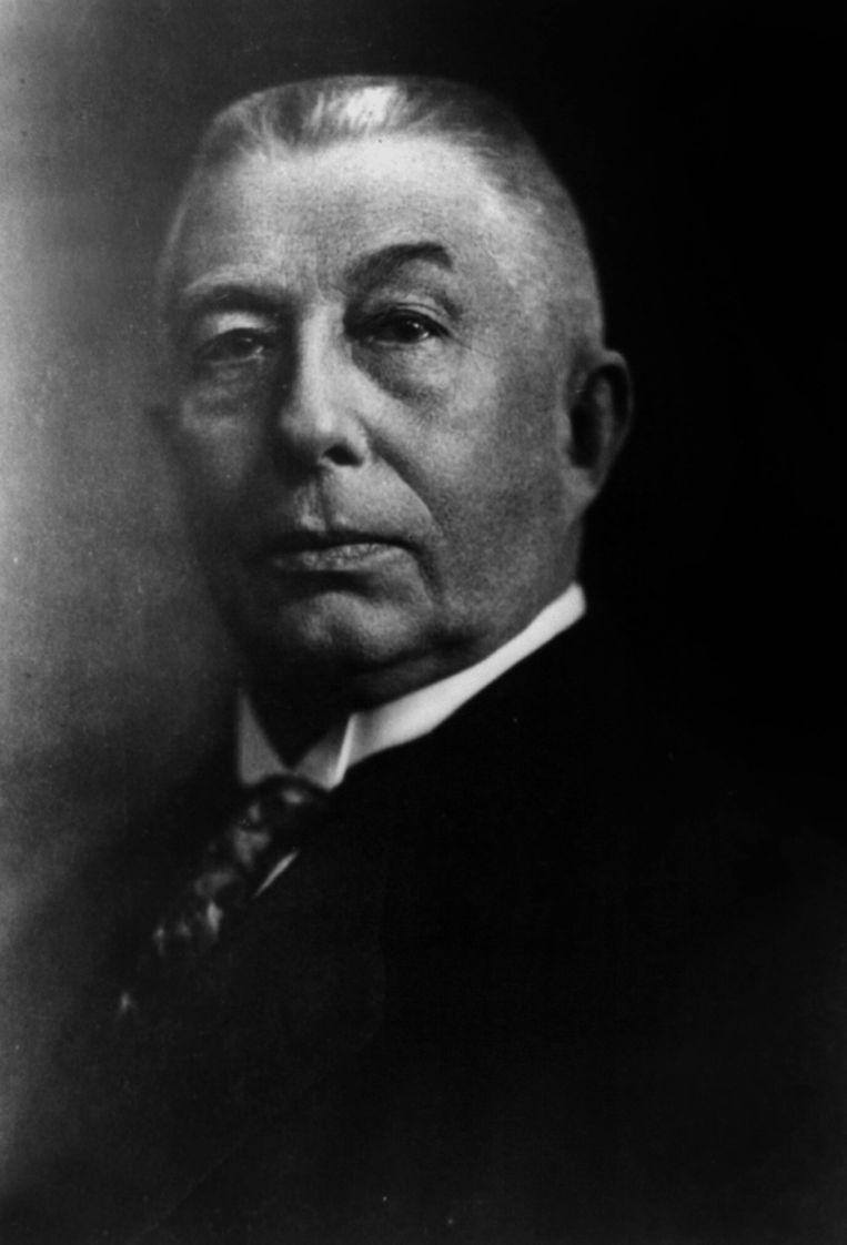 Hendrikus (Hendrik) Colijn (1869-1944) dutch politician (minister, head of government). (Photo by APIC/Getty Images) Beeld Getty