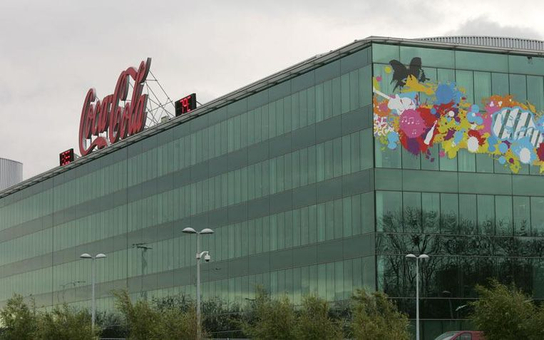 De hoofdzetel van Coca-Cola in Anderlecht.