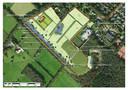 Het ontwerp van landgoed Theede volgens het inrichtingsplan.