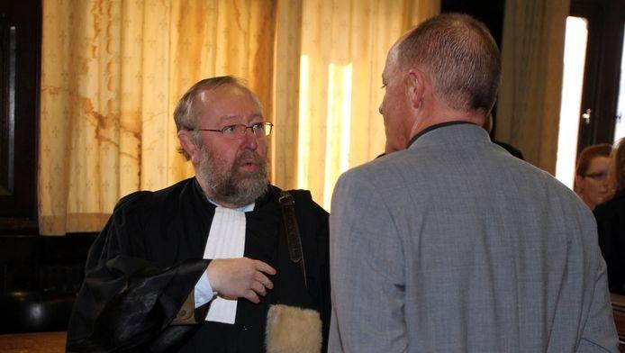 Gilbert Bodart met zijn advocaat Luc Misson.