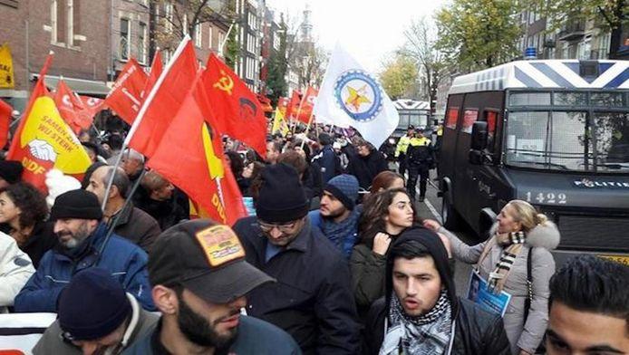 De betoging van afgelopen zaterdag