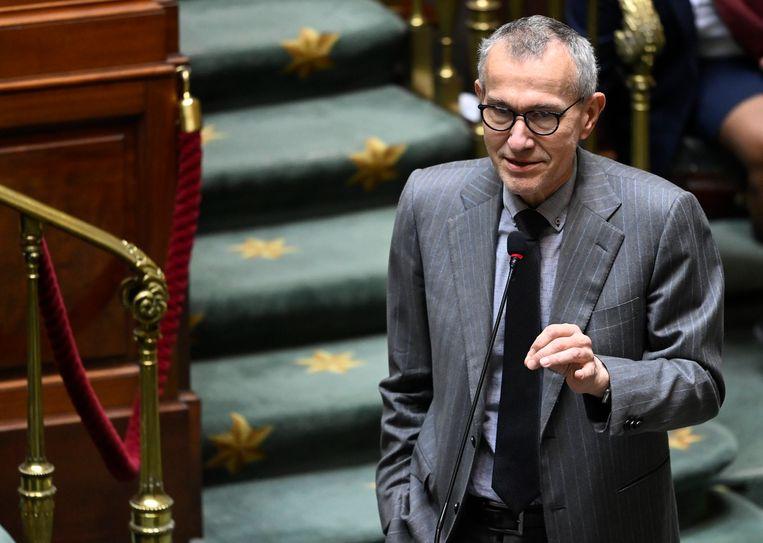 Minister van Volksgezondheid Frank Vandenbroucke (Vooruit). Beeld Photo News