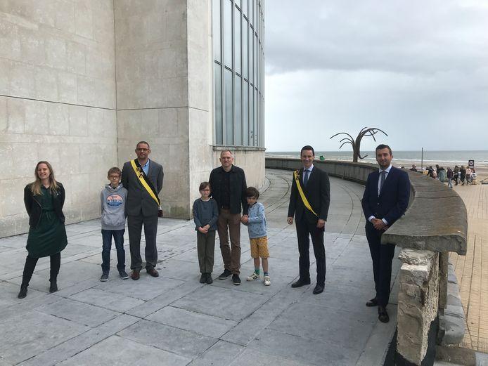 De achterkant van het Kursaal in Oostende krijgt een opknapbeurt. Hiervoor maakt de Vlaamse overheid 55.000 euro vrij.