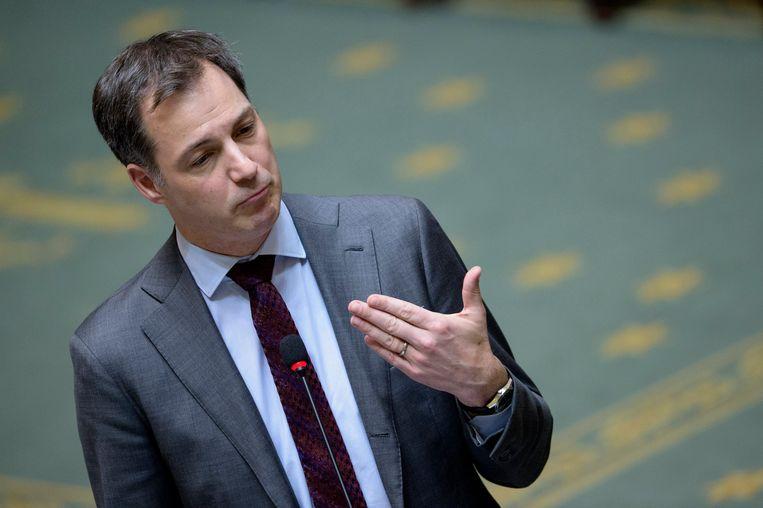 Minister van Financiën Alexander De Croo. Beeld Photo News