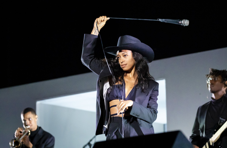 Liever een tedere Solange Knowles die de Afro-Amerikaanse invloed in de Texaanse westerncultuur herwaardeert, vindt Sasha Van Der Speeten. Beeld Aftonbladet