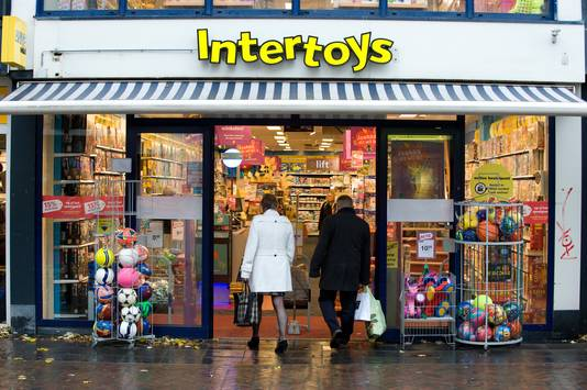 De Intertoys in Tiel, eind november 2017