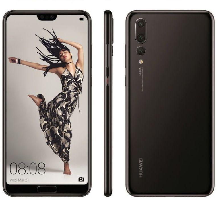 De Huawei P20 Pro. Beeld Huawei