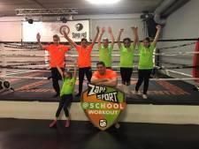 Work-out met Rico Verhoeven en oranje gekleed: zo vieren Brabantse kinderen Koningsspelen