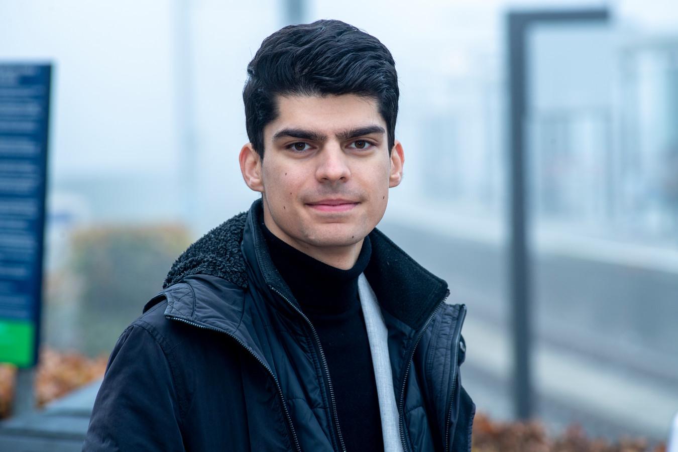 Romano Boshove staat bij de komende verkiezingen voor GroenLinks op plek 33.