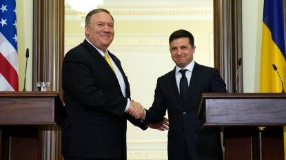 Pompeo bezoekt Oekraïense president in volle impeachmentprocedure
