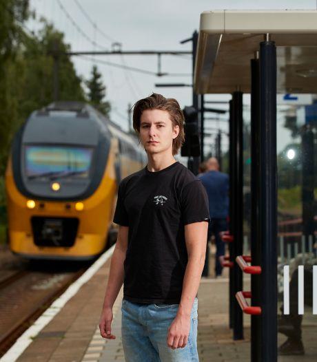 Oplettende Rijk (21) redt man van het spoor in Brummen: 'De conducteurs zijn de echte helden'