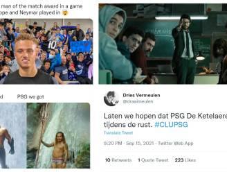 """Twitter smult van Brugse stunt tegen teleurstellend sterrenensemble: """"Laten we hopen dat PSG De Ketelaere niet koopt tijdens de rust"""""""