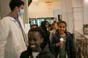 Conner Rousseau trakteerde 60 kinderen op een ijsje.