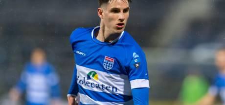 PEC Zwolle heeft maar weinig aanvallers en ook maar weinig geld
