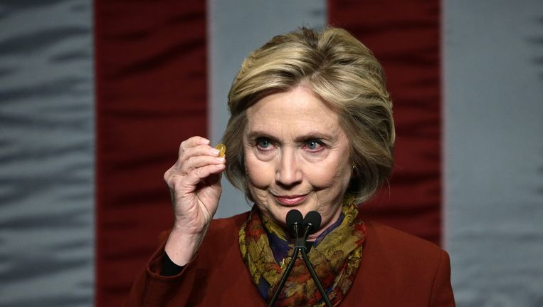 Hillary Clinton zou nu ook in Nevada concurrentie hebben van Bernie Sanders. Beeld EPA