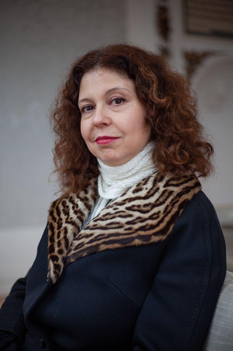 Anna Azernikova. Beeld Lin Woldendorp