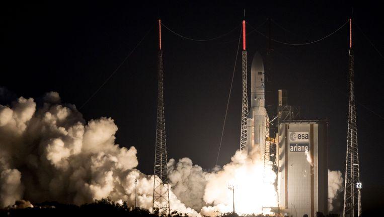 Een succesvolle lancering van een Ariane-5 raket in mei van dit jaar.