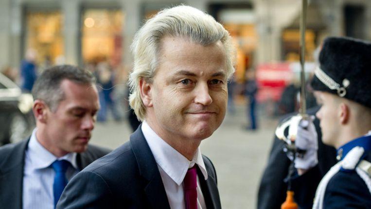 Geert Wilders, leider van de PVV. © ANP Beeld