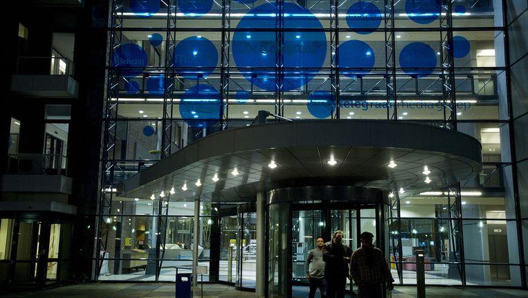 Het hoofdkantoor van de Telegraaf Media Groep (TMG), Beeld anp