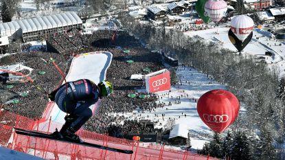 Met 140 km per uur afdalen van een verticale ijsbaan: na drie zware ongevallen stevig aan parcours gesleuteld