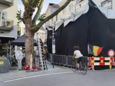 Netflix maakt opnames in Veemarktstraat Breda voor kerstfilm. Sarah: 'Heel imposant om te zien'