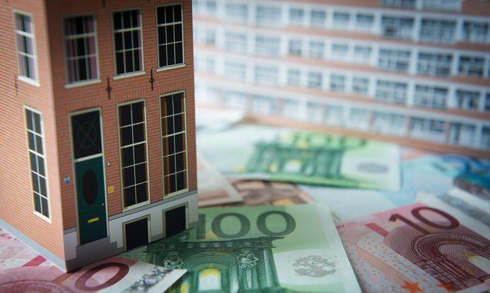 De starthuur in de middenhuur begint met ongeveer 1000 euro per maand