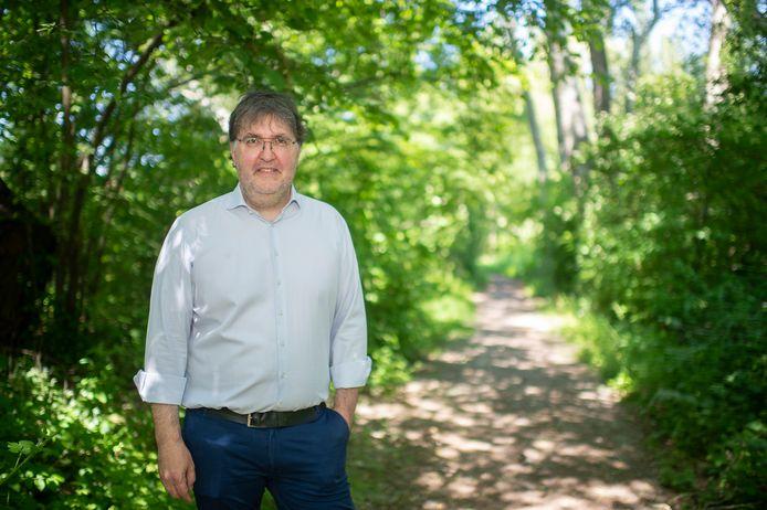 Wouter Van Besien (Groen) maakt zich ernstige zorgen over het kappen van bossen voor Oosterweel.